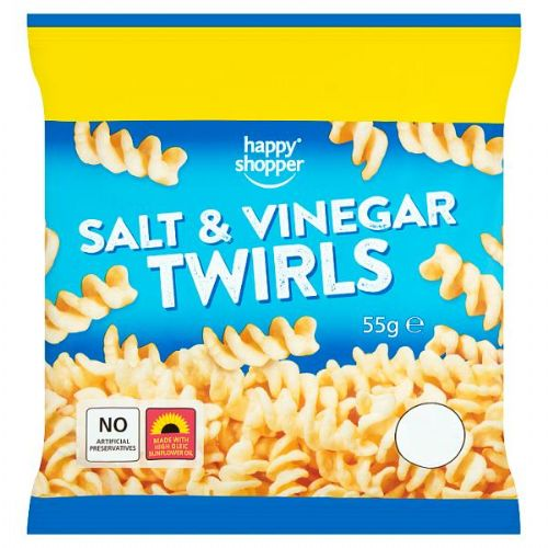 Happy Shopper Salt & Vinegar Twirls 55g
